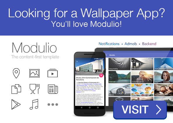 PaperPro - Rich Android Wallpaper App Template - 1
